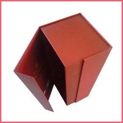 Vakje van de Gift van het Karton van de Magneet van de Luxe van het Deksel van het Vakje van de Magneet van de Presentatie van het Vakje van het document het Magnetische Zwarte Gepersonaliseerde dicht Verpakkende