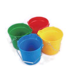 10L 14L balde de Serviço Pesado com Recipiente de limpeza de plástico graduações em relevo Quarts e litros