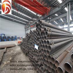 Горячий Перекатываться Ms утюг трубы ASTM стальные коробки круглые трубы черный стальной трубопровод