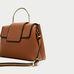 Nieuwe Jonge Dame Designer Handbag van de Manier van het Handvat van het Metaal van de Aankomst