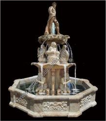 Granito Mármol Piedra Jardín Fuente de agua con diseño personalizado y tamaño (SY-F313)