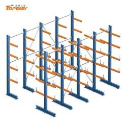 Rack in lamiera di acciaio per impieghi pesanti rack a sbalzo per conservazione di tubi
