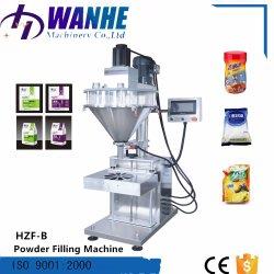 Hzf-B полуавтоматическая шнека молоко медицины порошок заполнения машины в ходе работы выводится