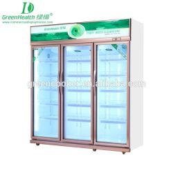Напиток с изготовителями оборудования систем хранения данных Ce утвердил Cogelador стеклянные двери шкафа электроавтоматики