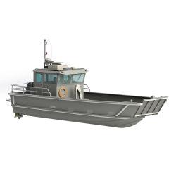 판매를 위한 상륙용 주정 4 톤 적재 능력 9m 30FT 알루미늄 바지선 일 배