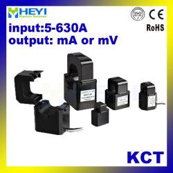 デザイン小型Cts 5A Ma 333mvの出力のHeyiのスプリット・コアの変流器のKctシリーズクランプ