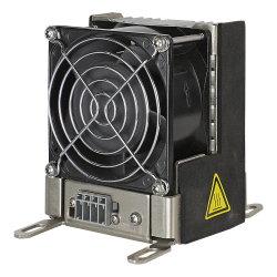 Плоского типа для крепления на DIN-рейку компактный вентилятор отопителя на корпусе Rhpv300