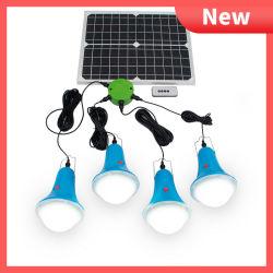 Global Sunrise Solar Power LED Leuchten Kit 25W Solarpanel 4pcs Wasserdichte Glühlampe