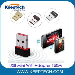 Mini scheda Nano di lan della rete wireless del USB dell'adattatore 150m del USB WiFi