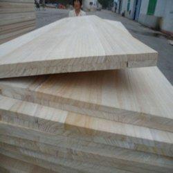 나무로 되는 마루를 위한 표백하는 자연 색깔 Paulownia 단단한 재목