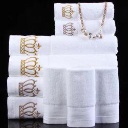 100% coton Terry face towel Serviette Serviette de bain de l'hôtel
