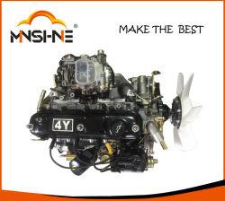 Peças Automotivas Motor Completo 4y carburador 4 cilindros a gasolina para a Toyota