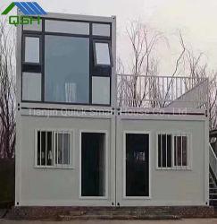 Compre o projeto de Garagem Casas de fibra de vidro/2 Duplex Piso Prefab House para a África do Sul/Canadá/Namíbia