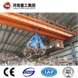 Гидравлический Grab ковш накладных мосту крана для обработки сыпучий материал с маркировкой CE/SGS сертификат