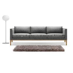 Mobiliário de escritório médio sofá de tecido do assento traseiro