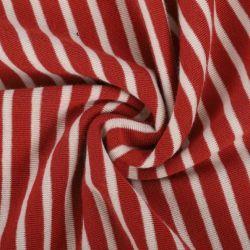 Fabrik-Hersteller Wholesale Baumwolle des Ausdehnungs-rote weiße gestreiftes Hemd-Gewebe-Gewebe57% für Kleid-Hose-T-Shirt