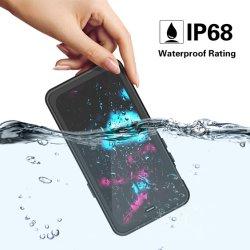 Novo IP68 Caixa Estanque Dust-Proof Anti-Drop capa para telemóvel com 3NO1 Fish Eye Camera para iPhone X Xs 11 PRO Max xr