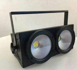 200 W à LED blanc chaud de rafles et 2 en 1 Blind Light Light Studio