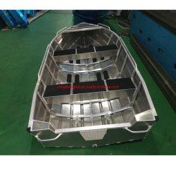 Plein d'alliage en aluminium soudé bateau/navire de pêche