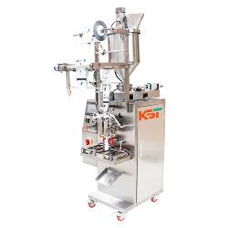 ماكينة التعبئة التلقائية لسائل الراعبوبي الصغير عالي السرعة صلصة الفلفل الحار المتعددة الوظائف آلة لصق المعبئ