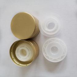 オリーブ油のびんのふたプラスチックおよびアルミニウム閉鎖
