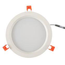 ضوء LED للحماية من التوهج يضيء باللون الأبيض الدافئ بحجم 8 بوصات بقوة 3000 واط