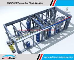 Rondelle de voiture haute pression automatique avec convoyeur à courroie Systèmes plat