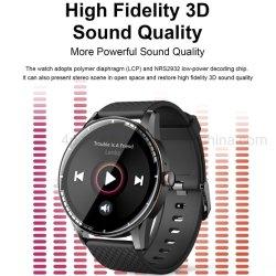 Nueva IP67 Resistente al agua totalmente táctil inteligente de control de Frecuencia Cardíaca de Tws Brazalete Bluetooth con el podómetro H6