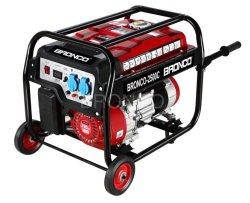 Bronco 2kw/2kVA-6kw/6kVA portátil hogar generador de gasolina con asa y ruedas