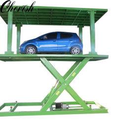 Doppio strato / piattaforma 2 auto / casa veicolo / Garage Pit / Forissor sotterraneo parcheggio auto Sollevare