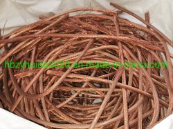 La chatarra de cable de cobre certificado SGS Mill Berry Min 99,9%/chatarra de cobre 99,99%.