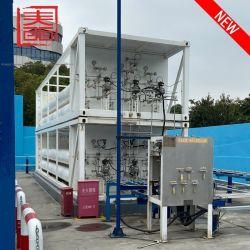Waterstoftankstation mobiele tankstation fabriek Direct verkopen met Hoge kwaliteit/aangepast volume van 1000 kg tot 8000 kg