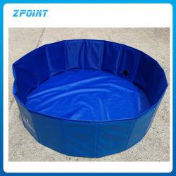 Artículos para mascotas Pet PVC plegables al aire libre Piscina baño