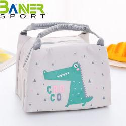 Cartoon Almoço Animal Bag à prova de água portátil painéis grandes galpões Frio Saco para piquenique