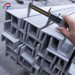 304 الفولاذ المقاوم للصدأ قناة سي قناة سعر الصلب مع قسم ملفوفة ساخنة