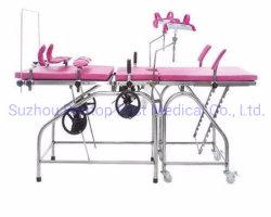 Soem-ODM-Krankenhaus-hydraulisches gynäkologisches prüfendes Tisch-gewöhnliches Geburtshilfe-Anlieferungs-Geschäfts-Bett