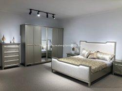 현대적인 6도어 옷장 가구 침실/홈 가구 세트 침실 / 현대적인 마스터 침실 가구