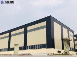 작업장 창고 건물을 위한 사전 제작된 경량 금속 강철 구조