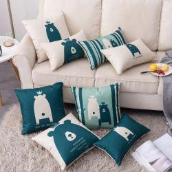 Comercio al por mayor ropa Super Soft simplemente estilo Imprimir Almohada