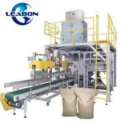 과립성 재료는 통합 포장 기계를 사용하여 밀봉 운송을 채웁니다