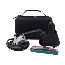 Negro personalizada Hard Shell EVA Premium portátil rígido maletín de herramientas de viaje con los golpes en el interior de espuma