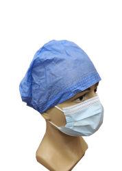 Disposable isolatiedop Medische beschermingsarts Nurse Cap Blauwe chirurgie Niet-geweven stof met dop