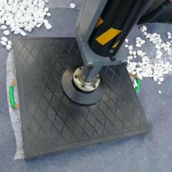 Bigfoot Blocos de plástico sólido para a segurança de HDPE Personalizados Grua pastilhas de Escora