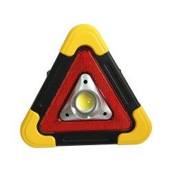 Bewegliches LED-Arbeits-Licht, Dreieck-Auto-Warnleuchte mit Standplatz für das Auto, das Emergency Hurrikane, 3 AA-Batterien repariert