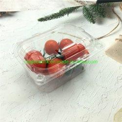 Food Grade Blister en plastique jetables bennes pour barquettes d'emballage de fruits de tomates 250 grammes Emballage en plastique