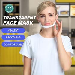 Het transparante Masker van het Gezicht van de Chef-kok van de Dienst van het Voedsel van het Restaurant van de Dekking van de Mond Hotel SPA Plastic