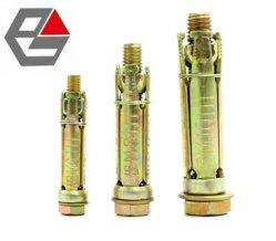 Acciaio giallo zinco 4 PZ ancoraggio di espansione protezione per impieghi pesanti