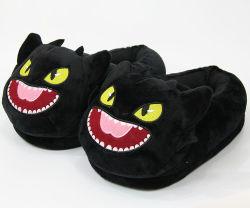Pluche Animal Bedroom Slippers Hoge kwaliteit Cute Goedkope dames kinderen Bontlaarzen