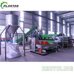 Wiederverwertung pp.-PET der granulierenden Plastikzeile