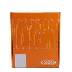 Amostra grátis o logotipo personalizado cor-de-laranja do vestuário Caixa de envio de correio de Papelão Ondulado